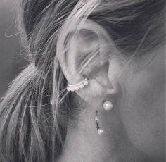 Earring, cuff