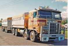 Dump Trucks, Cool Trucks, Big Trucks, Train Truck, Road Train, Cab Over, Kenworth Trucks, Tractors, Vehicles