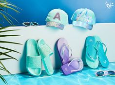 Aqua-mazing accessories in hues and details she'll <3.