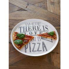 Love Pizza Plate | Rivièra Maison