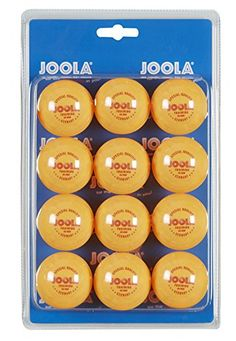 Joola Table tennis Ball Training 40 Blister Pack Of 12 Orange Table Tennis Olympic Table Tennis, Table Tennis Robot, Ping Pong Table Tennis, Table Tennis Racket, Table Tennis Equipment, Tennis Nets, Orange Table, Ping Pong Paddles, Tennis Match