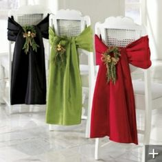 ●•‿✿⁀Party Plan‿✿⁀•●  ~~Chair Natale Wrap