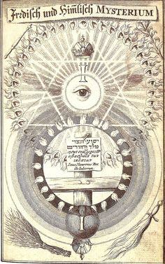 J.Bohme,Theosophische Wercke / Amsterdam 1682 / Sacred Geometry <3