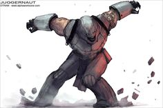 A cool redesign for the X-Men if Magneto were in charge.