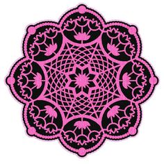 By Monica. Free SVG files: Doilies. 92 different designs posted so far.