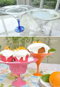 More cake stand ideas . . .