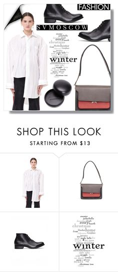 """""""SVMoscow 7"""" by fashion-pol ❤ liked on Polyvore featuring Vetements, Marni, Yohji Yamamoto, WALL, Ann Demeulemeester and svmoscow"""