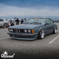 Caught @theseeker411 aird down with his #e24 #bmw #bagged #classic #love #ultimateklasse #bimmerfest #bfest #stanceworks #staycatuned #catuned  @catunedbook