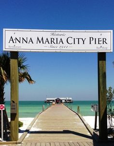 Beautiful Anna Maria City Pier, at the end of Pine Avenue Anna Maria island, Florida