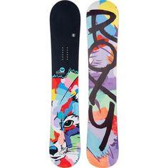 Roxy Sugar Banana Fox Snowboard - Women's 2015
