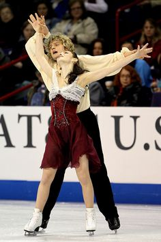 Meryl Davis and Charlie White- Ice Dancing costume inspiration for Sk8 Gr8 Designs