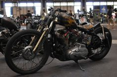 Bobber Inspiration   Ironhead bobber motorcycle   Bobbers and Custom Motorcycles