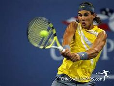 Rafa Nadal, the ultimate buff tennis player!