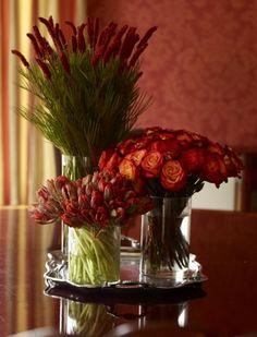 Autumn floral arrangments