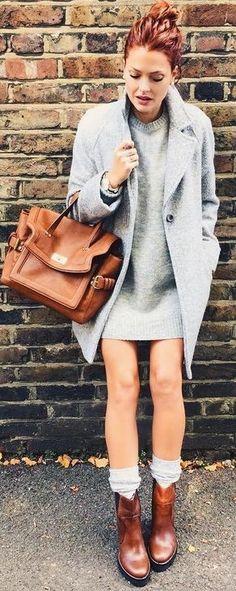 Shades Of Autumn Outfit Idea | Caroline Receveur