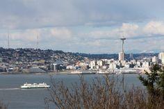 Locações de Grey's Anatomy em Seattle - Vista da Space Needle e da Ferry