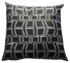 Distorted Buildings Cushion