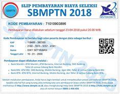 Pendaftaran Online SBMPTN 2018