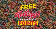 "For a limited time, get 400 free Kellogg's Family Rewards points by taking their short ""snack shopping"" quiz. Secret Code, 100 Free, The 100, Club"