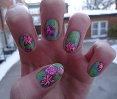Lilly nails...wooahh
