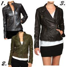 leather jackets make me happy