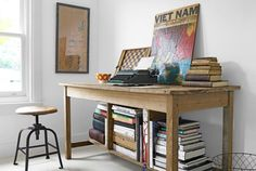 Rustic Workspace   - CountryLiving.com