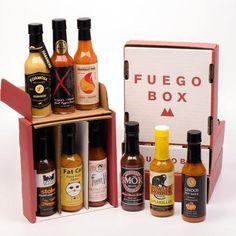 Fuego Box Hot Sauce Gift Box Giveaway