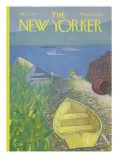 The New Yorker Cover - July 15, 1972 Poster Print by Charles E. Martin at the Condé Nast Collection