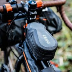 Weighing next to nothing and unusually practical, the Cockpit-Pack helps to secure your personal fuel supply by giving you direct, one-handed access to your fa Bike Saddle Bags, Velcro Straps, Bag Accessories, Packing, Essentials, Action, Life, Products
