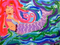 Sleepyhead Designs Studio: Painting Mermaids