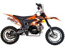 FunBikes Cobra 4S 50cc 62cm Orange Mini Dirt Bike