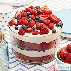 Red Velvet Summer Trifle