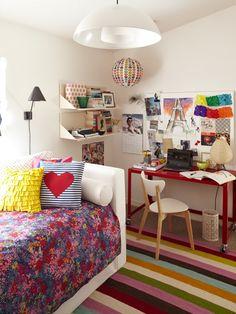Teen Vogue room.