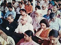 Jayaprakash Mallay attending Indian History Congress seminar from the University of Calicut in December 1999