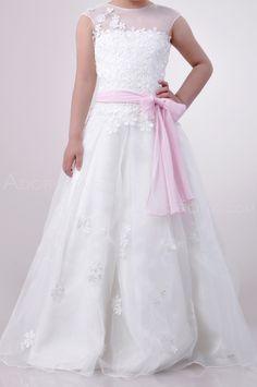 Communion Dress with Sash