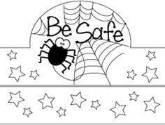 We are using these as a TRICK OR TREAT SAFETY ACTIVITY! Students will color as we remind them all the ways to stay safe. LOVE IT!!