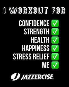 jazzercise a great workout #MotivationalQuotesForWorkingOut