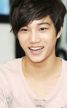 EXO Jongin Kai is sooo cute:)