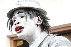 Mime Artist - Hout Bay Market - Cape Town, South Africa (photographed by Melanie Widan) Mime Artist, Cape Town, South Africa, Marketing, Eyes, People, Photography, Photograph, Fotografie