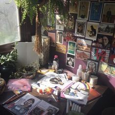 Messy Bedroom, Quirky Bedroom, Hippy Room, Indie Room, Indie Living Room, Grunge Room, Pretty Room, Room Goals, Aesthetic Room Decor