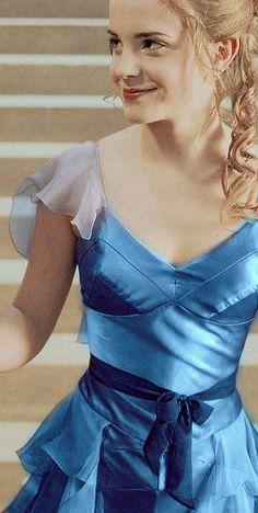 hermione granger blue yule ball dress - Pesquisa Google