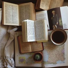 Tea, Coffee, and Books Keep It Real, Auryn, Brown Aesthetic, Cozy Aesthetic, Rainbow Aesthetic, Autumn Aesthetic, Aesthetic Vintage, Coffee And Books, Book Photography