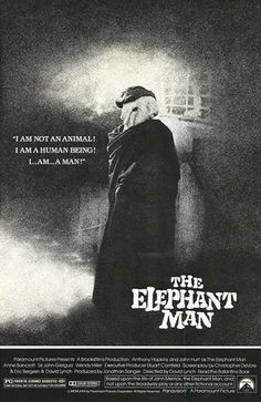 The Elephant Man.  I loved this movie and I will never watch it again.  TOO heartbreaking.