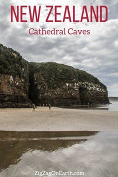 Cathedral Caves in New Zealand -- #newzealand | New Zealand Travel Guide | Things to do in New Zealand Island | New Zealand photography | New Zealand Road Trip | New Zealand scenery | New Zealand travel tips | New Zealand itinerary | #Travel | Travel Inspiration | Scenery & Wanderlust | Best Travel destinations