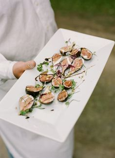 Roasted figs: http://www.stylemepretty.com/2015/08/20/20-cocktail-hour-appetizers-your-guests-will-devour/: