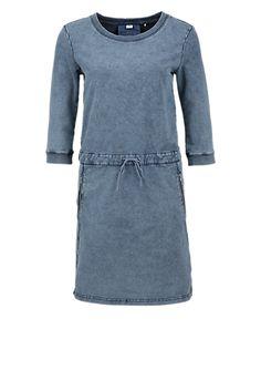 Sweatjurk met een garment-washed effect van s.Oliver. Ontdek en bestel nu online topactuele mode voor dames, heren en kinderen