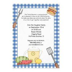 Family Reunion Picnic Invitations | Best Picnic invitations and ...