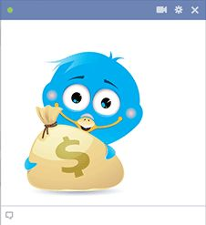 If you just made pay day or inherited a windfall, you can share your good news on Facebook.