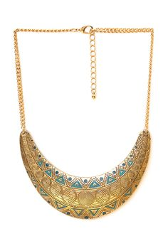 Ancient World Crescent Necklace | FOREVER21