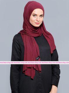 Abbigliameto Halal Islamico Negozio Online  #islamic #hijab #modest #fashion product  Combed Jersey Scarf - Purple - Rabia Z - Fabric Info:  100% Combed Cotton  Weight: 0.226 kg  Sizes:  Width: 75 cm  Height: 200 cm - SKU: 235207. Buy now at http://muslimas-shop.com/combed-jersey-scarf-purple-rabia-z235207.html